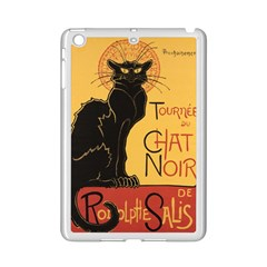 Black cat iPad Mini 2 Enamel Coated Cases