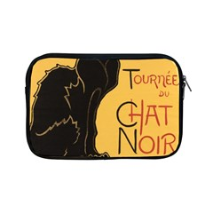 Black cat Apple iPad Mini Zipper Cases