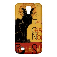 Black cat Samsung Galaxy Mega 6.3  I9200 Hardshell Case