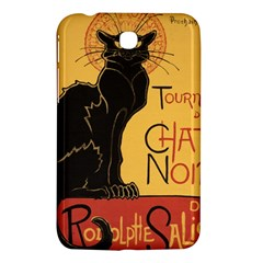 Black cat Samsung Galaxy Tab 3 (7 ) P3200 Hardshell Case