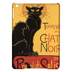 Black cat iPad Air Hardshell Cases