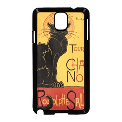 Black cat Samsung Galaxy Note 3 Neo Hardshell Case (Black)