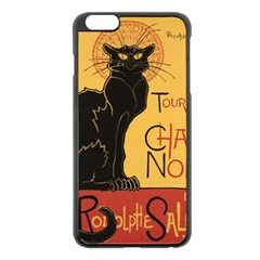 Black cat Apple iPhone 6 Plus/6S Plus Black Enamel Case