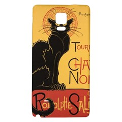Black cat Galaxy Note 4 Back Case