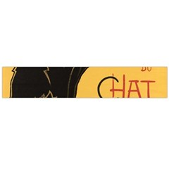 Black cat Flano Scarf (Large)