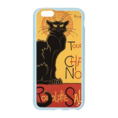 Black cat Apple Seamless iPhone 6/6S Case (Color)