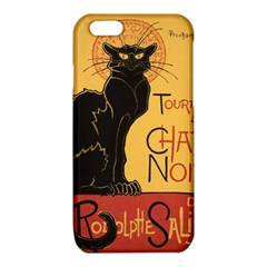 Black cat iPhone 6/6S TPU Case
