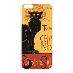 Black cat Apple Seamless iPhone 6 Plus/6S Plus Case (Transparent)