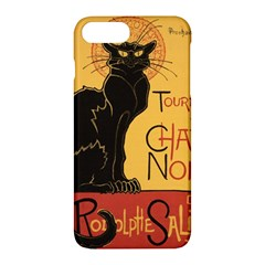 Black cat Apple iPhone 7 Plus Hardshell Case