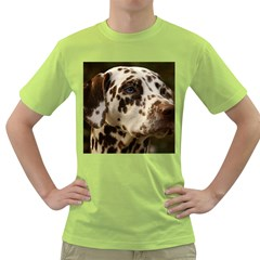 Dalmatian Liver Green T-Shirt