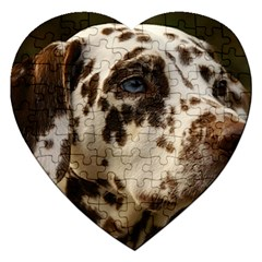 Dalmatian Liver Jigsaw Puzzle (Heart)