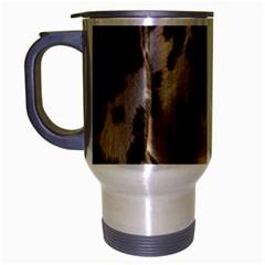 Dalmatian Liver Travel Mug (Silver Gray)