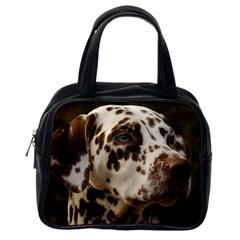 Dalmatian Liver Classic Handbags (One Side)