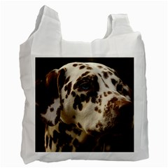 Dalmatian Liver Recycle Bag (One Side)