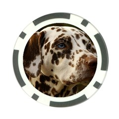 Dalmatian Liver Poker Chip Card Guard (10 pack)