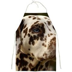 Dalmatian Liver Full Print Aprons