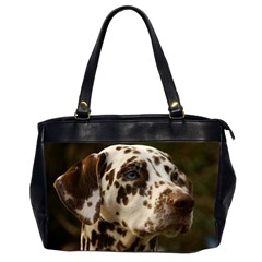 Dalmatian Liver Office Handbags (2 Sides)