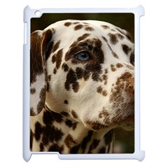 Dalmatian Liver Apple iPad 2 Case (White)