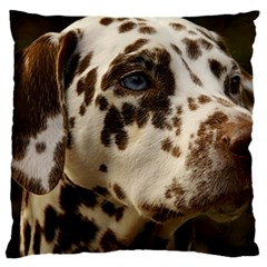 Dalmatian Liver Large Cushion Case (One Side)