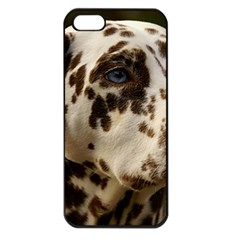 Dalmatian Liver Apple iPhone 5 Seamless Case (Black)