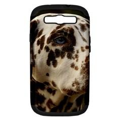 Dalmatian Liver Samsung Galaxy S III Hardshell Case (PC+Silicone)