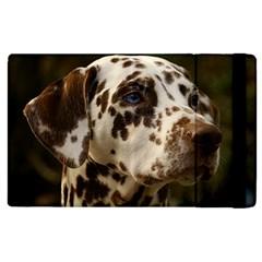 Dalmatian Liver Apple iPad 3/4 Flip Case