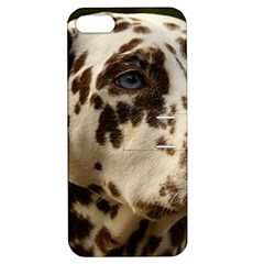 Dalmatian Liver Apple iPhone 5 Hardshell Case with Stand