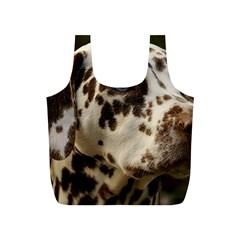 Dalmatian Liver Full Print Recycle Bags (S)
