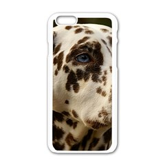 Dalmatian Liver Apple iPhone 6/6S White Enamel Case