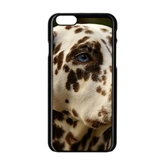 Dalmatian Liver Apple iPhone 6/6S Black Enamel Case