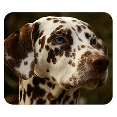 Dalmatian Liver Double Sided Flano Blanket (Small)