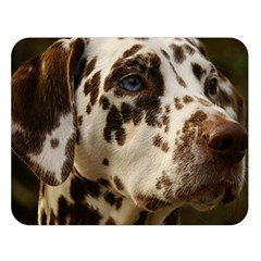 Dalmatian Liver Double Sided Flano Blanket (Large)
