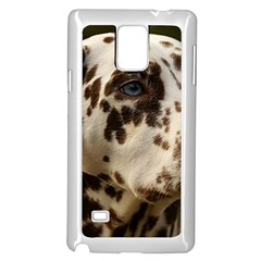 Dalmatian Liver Samsung Galaxy Note 4 Case (White)