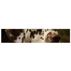 Dalmatian Liver Flano Scarf (Small)