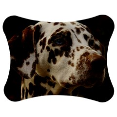 Dalmatian Liver Jigsaw Puzzle Photo Stand (Bow)