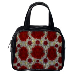Paint On Water Falls,in Peace And Calm Classic Handbags (One Side)