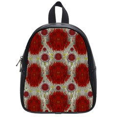 Paint On Water Falls,in Peace And Calm School Bags (small)