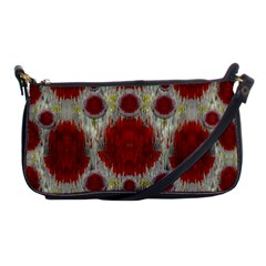 Paint On Water Falls,in Peace And Calm Shoulder Clutch Bags