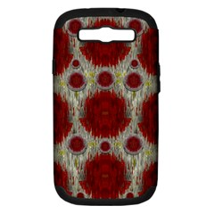 Paint On Water Falls,in Peace And Calm Samsung Galaxy S III Hardshell Case (PC+Silicone)