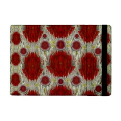 Paint On Water Falls,in Peace And Calm Apple Ipad Mini Flip Case