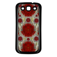 Paint On Water Falls,in Peace And Calm Samsung Galaxy S3 Back Case (black)