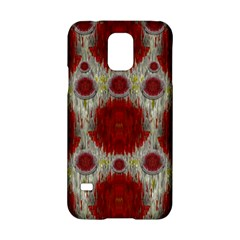 Paint On Water Falls,in Peace And Calm Samsung Galaxy S5 Hardshell Case
