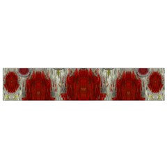 Paint On Water Falls,in Peace And Calm Flano Scarf (small)