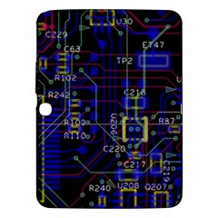 Technology Circuit Board Layout Samsung Galaxy Tab 3 (10.1 ) P5200 Hardshell Case
