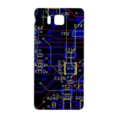 Technology Circuit Board Layout Samsung Galaxy Alpha Hardshell Back Case