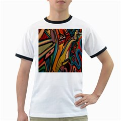 Vivid Colours Ringer T-Shirts