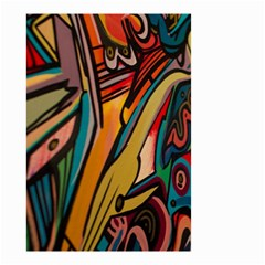 Vivid Colours Small Garden Flag (Two Sides)