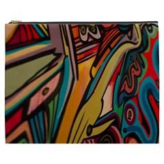 Vivid Colours Cosmetic Bag (XXXL)
