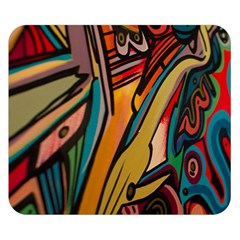 Vivid Colours Double Sided Flano Blanket (Small)