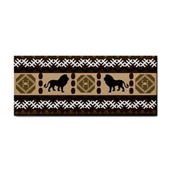 Lion African Vector Pattern Cosmetic Storage Cases